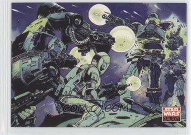 1994 Topps Star Wars Galaxy Series 2 Promos #DH1 - [Missing] (Dark Horse)