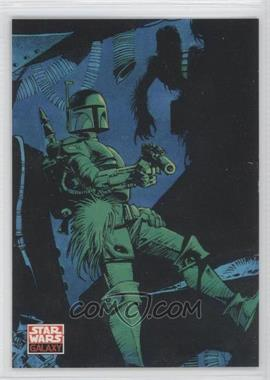 1994 Topps Star Wars Galaxy Series 2 Promos #DH2 - Dark Empire II (Boba Fett) (Dark Horse)