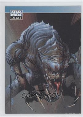 1994 Topps Star Wars Galaxy Series 2 Promos #P1 - Rancor