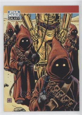 1994 Topps Star Wars Galaxy Series 2 Promos #P4 - Jawa