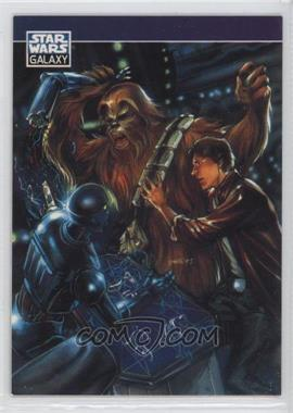 1994 Topps Star Wars Galaxy Series 2 Promos #P5 - Han Solo, Chewbacca
