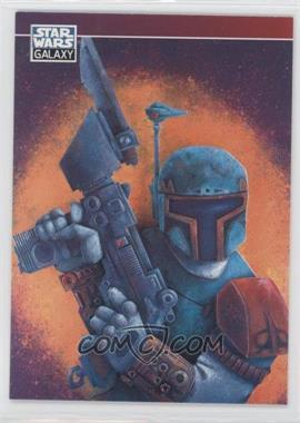 1994 Topps Star Wars Galaxy Series 2 Promos #P6 - Boba Fett