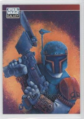 1994 Topps Star Wars Galaxy Series 2 Promos #P6 - Boba Fett