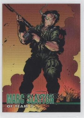 1994 WildStorm Set 1 #48 - Marc Slayton of Team 7