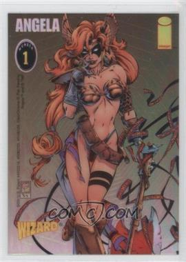 1995-97 Wizard Magazine Chromium Promos #1 - Angela