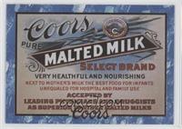 1916 Malted Milk Ad