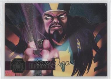 1995 Flair Marvel Annual [???] #22 - Mandarin