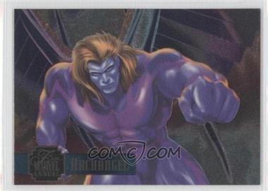 1995 Flair Marvel Annual PowerBlast #16 - Archangel