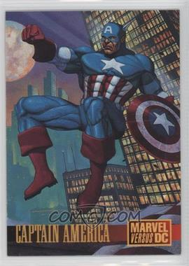 1995 Fleer DC Versus Marvel - Promo #2 - Captain America Promo