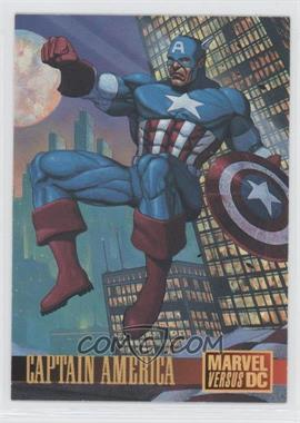 1995 Fleer DC Versus Marvel #2 - Captain America Promo