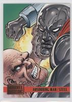 Absorbing Man vs. Steel