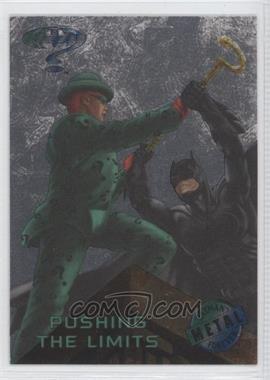 1995 Fleer Metal Batman Forever - [Base] - Silver Flasher #45 - Pushing the Limits