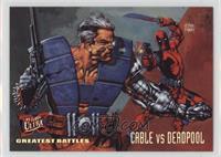 Greatest Battles - Cable VS Deadpool