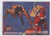 Greatest Battles - Omega Red vs. Wolverine