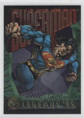 1995 SkyBox DC Legends Power Chrome #NoN - Superman