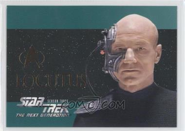 1995 SkyBox Star Trek The Next Generation Season 3 - Foil Embossed #S16 - Locutus