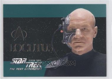 1995 SkyBox Star Trek The Next Generation Season 3 Foil Embossed #S16 - Locutus