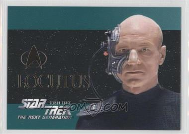 1995 SkyBox Star Trek The Next Generation Season 3 Foil Embossed #S16 - Locutus