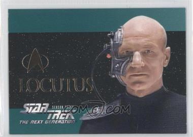 1995 SkyBox Star Trek The Next Generation Season 3 Foil-Embossed #S16 - [Missing]