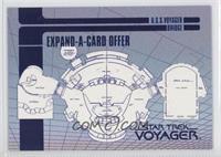 U.S.S. Voyager Bridge