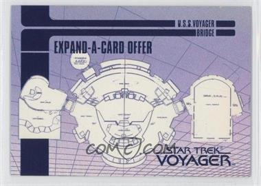 1995 SkyBox Star Trek: Voyager Season One Series 1 Blueprint Offer Expand-A-Cards #X-2 - [Missing]