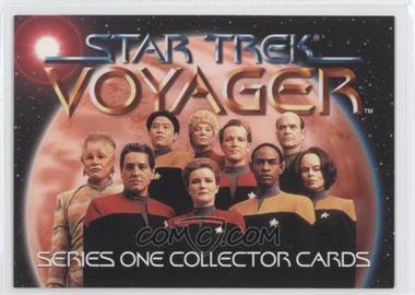 1995 SkyBox Star Trek: Voyager Season One Series 1 Promos #T1 - Voyager Crew