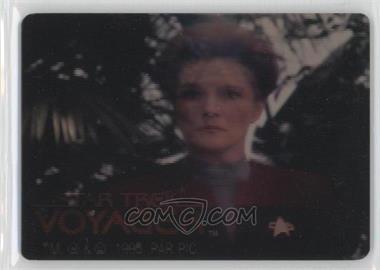 1995 SkyBox Star Trek: Voyager Season One Series 1 SkyMotion #NoN - Captain Janeway