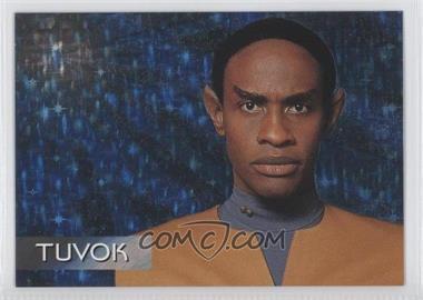 1995 SkyBox Star Trek: Voyager Season One Series 1 Spectra-Etch Crew #S3 - Tuvok