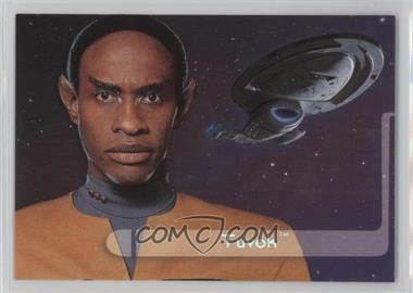 1995 SkyBox Star Trek: Voyager Season One Series 2 - Embossed Crew #E3 - Tuvok