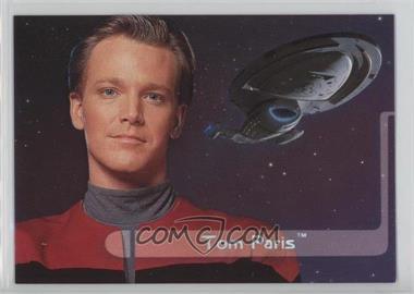 1995 SkyBox Star Trek: Voyager Season One Series 2 - Embossed Crew #E5 - Tom Paris