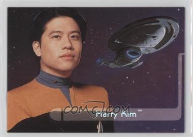 1995 SkyBox Star Trek: Voyager Season One Series 2 - Embossed Crew #E6 - Harry Kim
