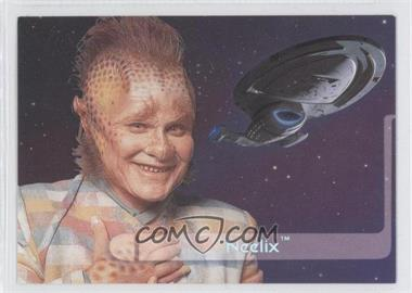 1995 SkyBox Star Trek: Voyager Season One Series 2 - Embossed Crew #E9 - Neelix