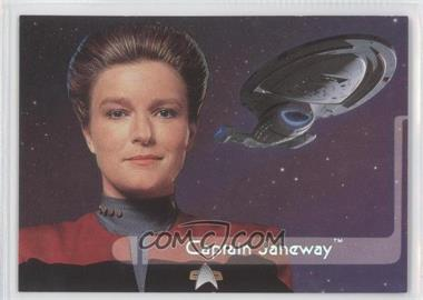 1995 SkyBox Star Trek: Voyager Season One Series 2 Embossed Crew #E1 - Captain Janeway
