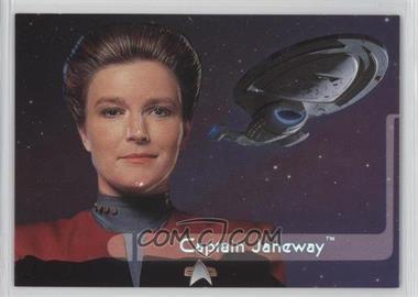 1995 SkyBox Star Trek: Voyager Season One Series 2 Embossed Crew #E1 - Captain Janeway