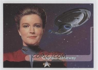 1995 SkyBox Star Trek: Voyager Season One Series 2 Embossed Crew #E1 - [Missing]