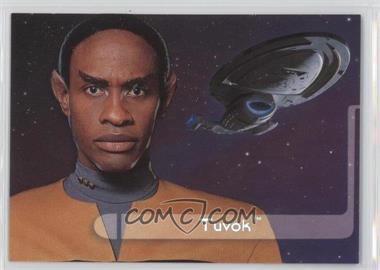 1995 SkyBox Star Trek: Voyager Season One Series 2 Embossed Crew #E3 - Tuvok