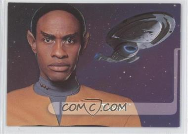 1995 SkyBox Star Trek: Voyager Season One Series 2 Embossed Crew #E3 - Tuvok