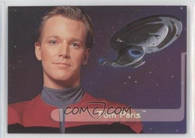 1995 SkyBox Star Trek: Voyager Season One Series 2 Embossed Crew #E5 - Tom Paris
