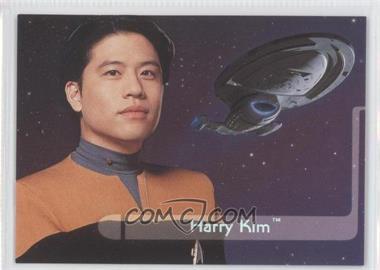 1995 SkyBox Star Trek: Voyager Season One Series 2 Embossed Crew #E6 - Harry Kim