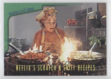 1995 SkyBox Star Trek: Voyager Season One Series 2 Neelix's Scratch N Sniff Recipes #R5 - Macaroni and Brill Cheese