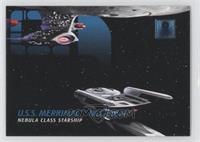 Ships - U.S.S. Merrimac- Nebula-Class Starship
