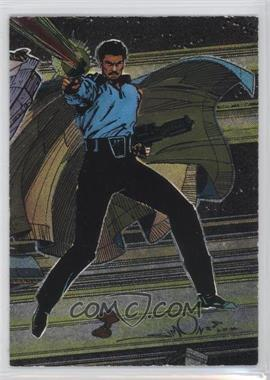 1995 Topps Star Wars Galaxy Series 3 - Etched Foil #13 - Lando Calrissian