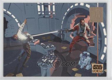 1995 Topps Star Wars Galaxy Series 3 - LucasArts Foil #L10 - Lucasarts