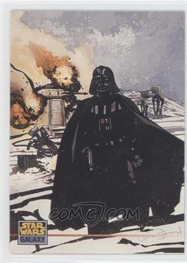 1995 Topps Star Wars Galaxy Series 3 - Promos #P3 - Darth Vader