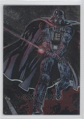 1995 Topps Star Wars Galaxy Series 3 [???] #1 - Darth Vader