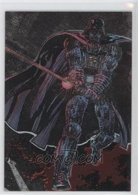 1995 Topps Star Wars Galaxy Series 3 [???] #1 - Darth Vader