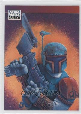 1995 Topps Star Wars Galaxy Series 3 [???] #P6 - Boba Fett