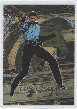 1995 Topps Star Wars Galaxy Series 3 Etched Foil #13 - Lando Calrissian