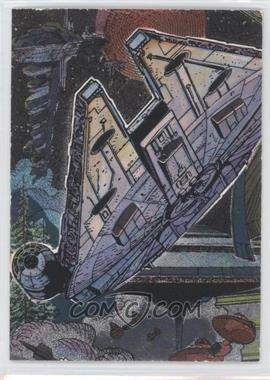1995 Topps Star Wars Galaxy Series 3 Etched Foil #14 - [Missing]