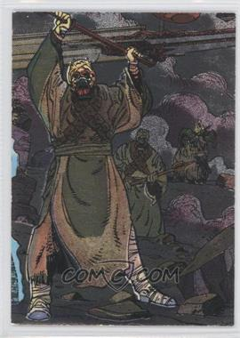 1995 Topps Star Wars Galaxy Series 3 Etched Foil #17 - Tusken Raider